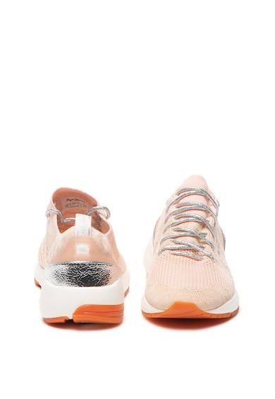 Pepe Jeans London Pantofi sport slip on de plasa, cu aspect tricotat Foster Space Femei