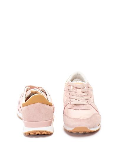 Pepe Jeans London Pantofi sport cu garnituri de piele intoarsa Bimba Soft Femei