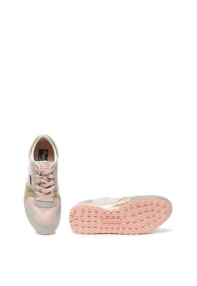 Pepe Jeans London Pantofi sport cu garnituri de piele intoarsa Bimba Femei