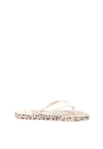 Pepe Jeans London Papuci flip-flop cu imprimeu floral Rake Daly Femei