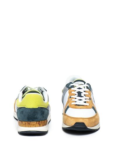 Pepe Jeans London Pantofi sport cu garnituri de piele intoarsa Tinker Pro Camp Barbati