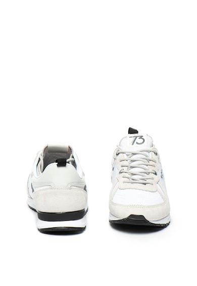 Pepe Jeans London Pantofi sport slip-on cu garnituri de piele intoarsa Tinker Pro 73 Barbati