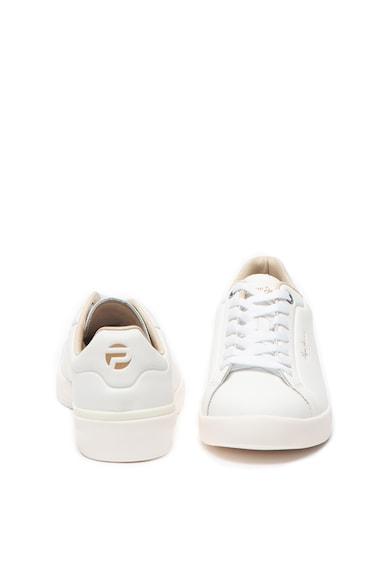 Pepe Jeans London Pantofi sport de piele, cu imprimeu logo Roland Barbati