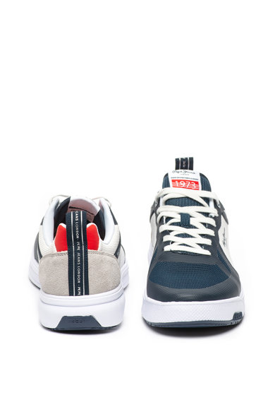 Pepe Jeans London Pantofi sport din plasa tricotata Slate Barbati