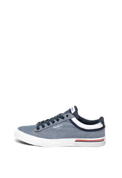 Pepe Jeans London Pantofi sport din material textil North Court Barbati
