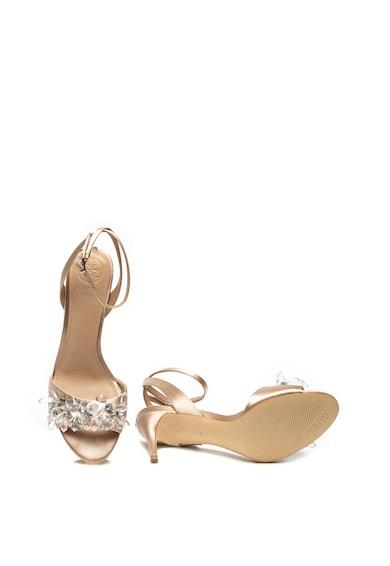 Guess Sandale de piele ecologica cu strasuri Femei