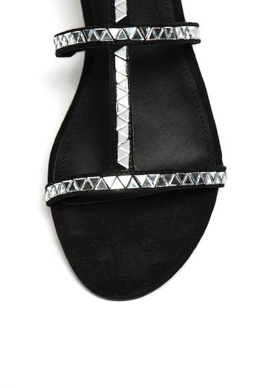 Guess Sandale cu bareta pe glezna si strasuri Femei