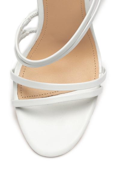 Guess Sandale de piele cu barete multiple Femei