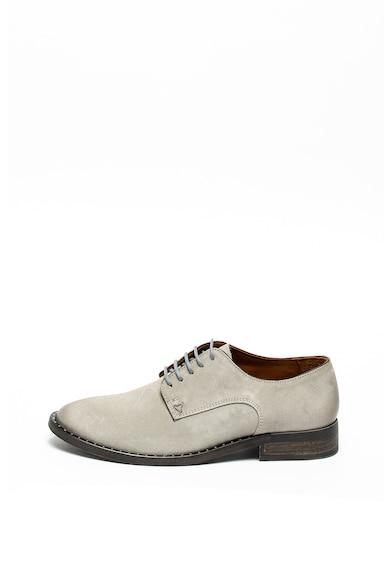 Guess Pantofi derby de piele intoarsa Barbati