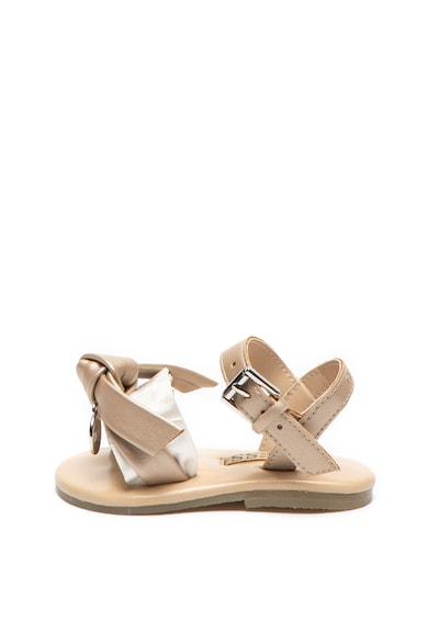 Guess Sandale de piele ecologica, cu funda Fete