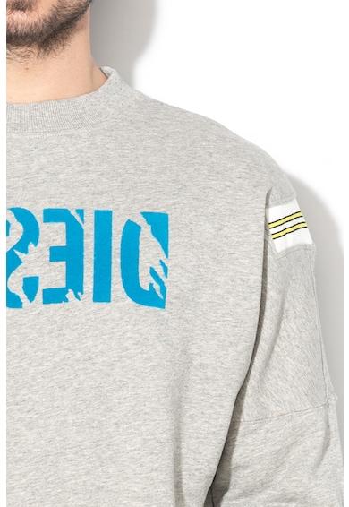 Diesel Bluza sport cu logo cu aspect zgariat Radio Barbati