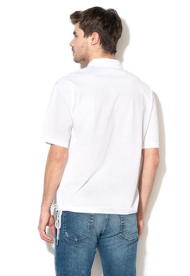Diesel Тениска Plato с яка и връзка на подгъва Мъже