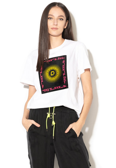 Diesel Тениска Daria с фигурална щампа Жени