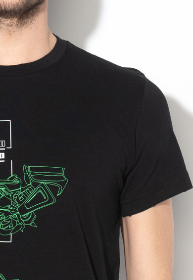 Diesel Diego grafikai mintás póló férfi