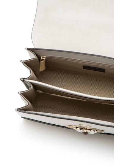 Furla Кожена чанта Mughetto с апликация отпред Жени