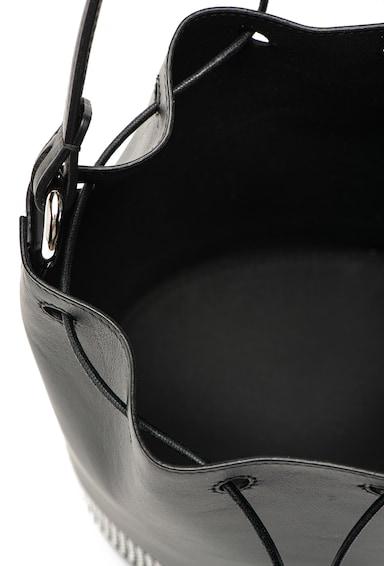 Furla Corona bőr vödörtáska kivehető kistáskával női