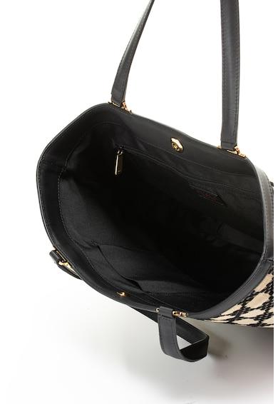 Furla Карирана шопинг чанта Fortezza с метални елементи Жени