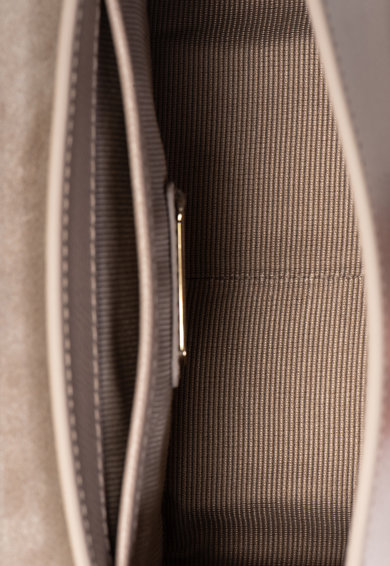 Furla Малка кожена чанта през рамо Metropolis Жени