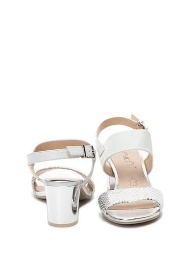 Caprice Sandale de piele, cu toc masiv Femei