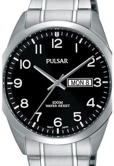 Pulsar Кварцов часовник от неръждаема стомана Мъже