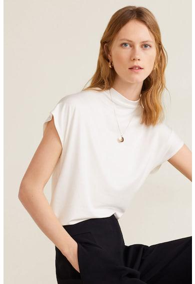 Mango Lima kerek nyakú modáltartalmú póló női
