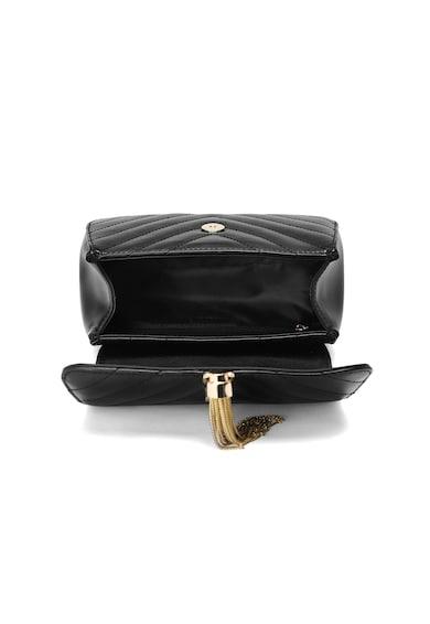 C'iel Кожена чанта Sibyl с пискюл Жени