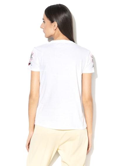 Sportmax Code Moena póló hímzett virággal női