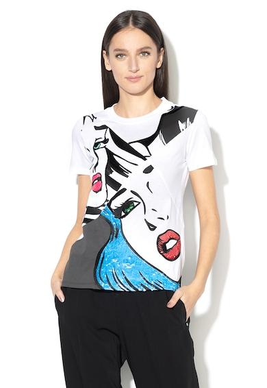 Sportmax Code Benares póló flitteres rátétekkel női