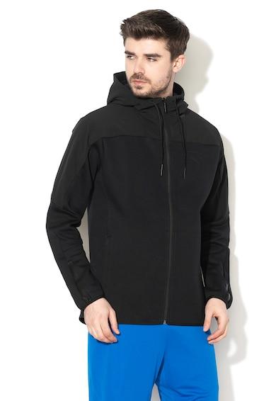 Puma Pace Lab FZ cipzáras kapucnis pulóver logómintával férfi
