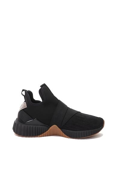 Puma Defy Mid Luxe Wn's bebújós sneakers cipő nyersbőr betétekkel női