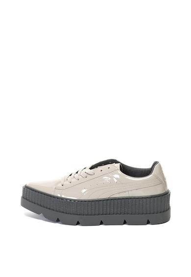 Puma Обувки от еко кожа с равна платформа Жени
