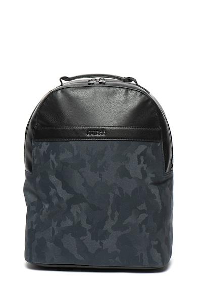 Guess Műbőr és textil hátizsák logóval férfi