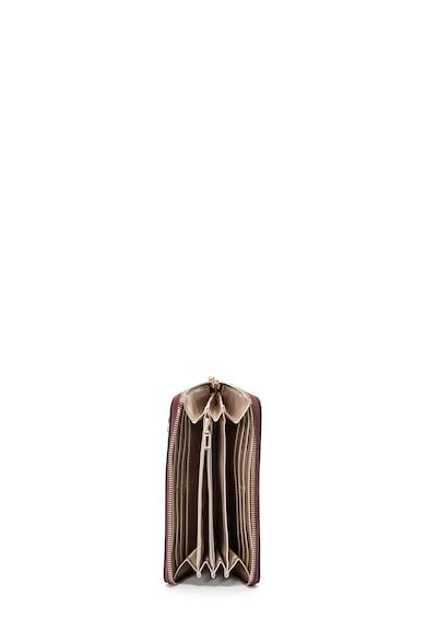 Guess Portofel de piele ecologica cu imprimeu floral Open Road Femei