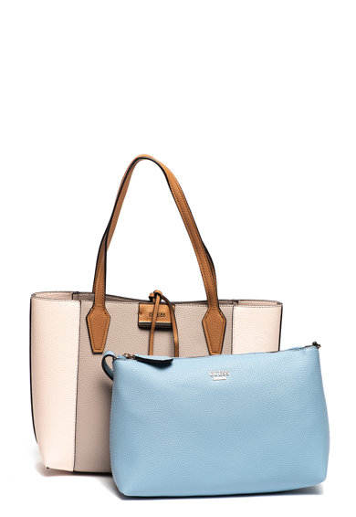 Guess Двулицева чанта Bobbi от еко кожа Жени