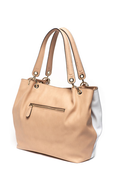 Guess Cary műbőr shopper fazonú táska logórátéttel női