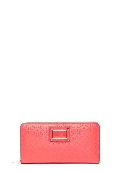 Guess Bifold cipzáros pénztárca logós mintával női