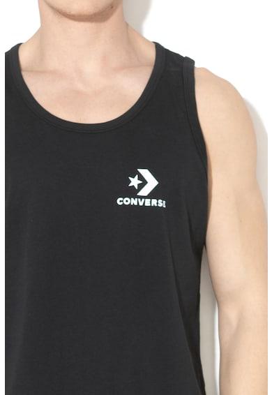 Converse Top de bumbac cu logo Barbati