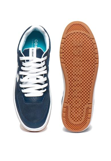 Converse Pantofi sport unisex din piele si plasa Femei