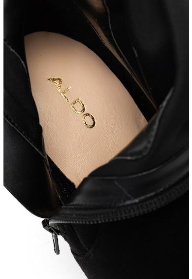 Aldo Cizme de piele intoarsa sintetica lungi peste genunchi Femei