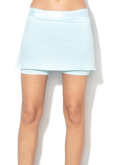 Nike Fusta pantalon cu detaliu logo si Dri-Fit, pentru tenis Femei