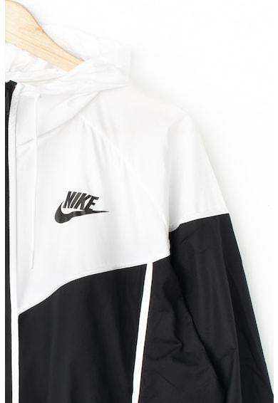 Nike Яке с цветен блок и размер плюс Жени
