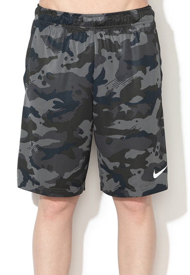 Nike Bermude cu imprimeu camuflaj si Dri Fit, pentru antrenament Barbati