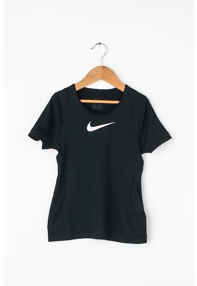 Nike Фитнес тениска Dri-Fit с лого Момичета