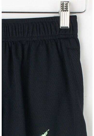 Nike Pantaloni scurti cu imprimeu logo, pentru antrenament Dri-Fit Baieti