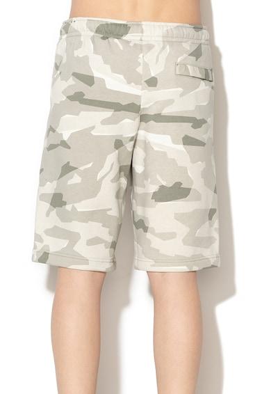 Nike Камуфлажен спортен панталон тип бермуди Мъже