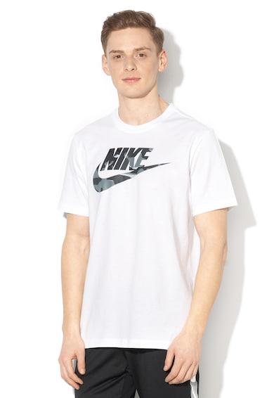 Nike Тениска с овално деколте и лого Мъже