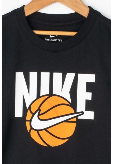 Nike Тениска за баскетбол с лого Момчета