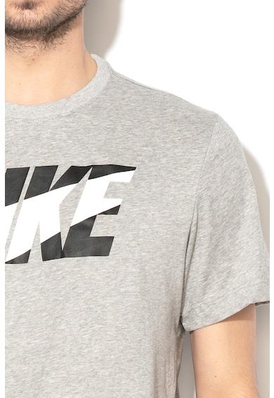 Nike Dri-Fit logómintás edzőpóló férfi
