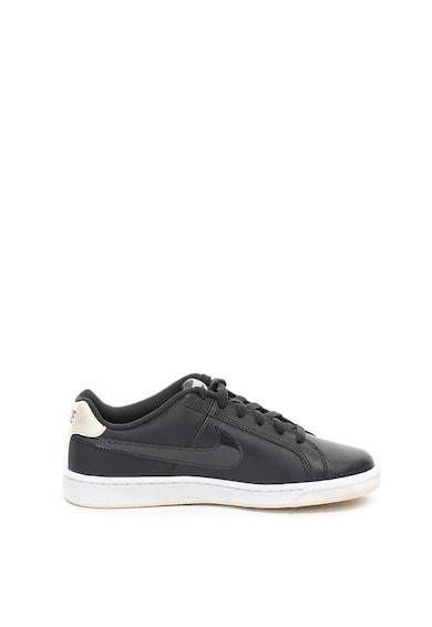 Nike Pantofi sport cu logo cu aspect lacuit Court Royale Femei