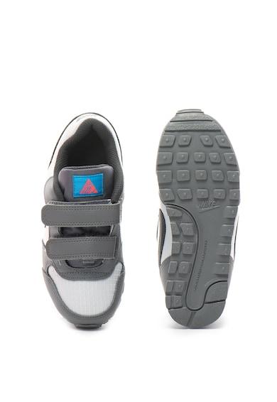 Nike Pantofi sport cu velcro si insertii de piele MD Runner Baieti